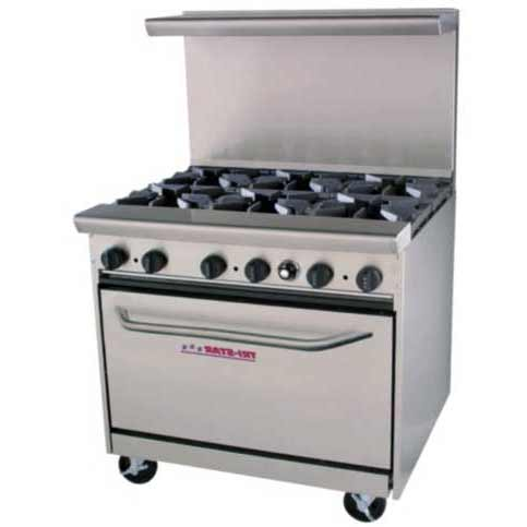 Gas Restaurant Ranges