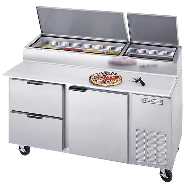 Pizza Prep Refrigerators