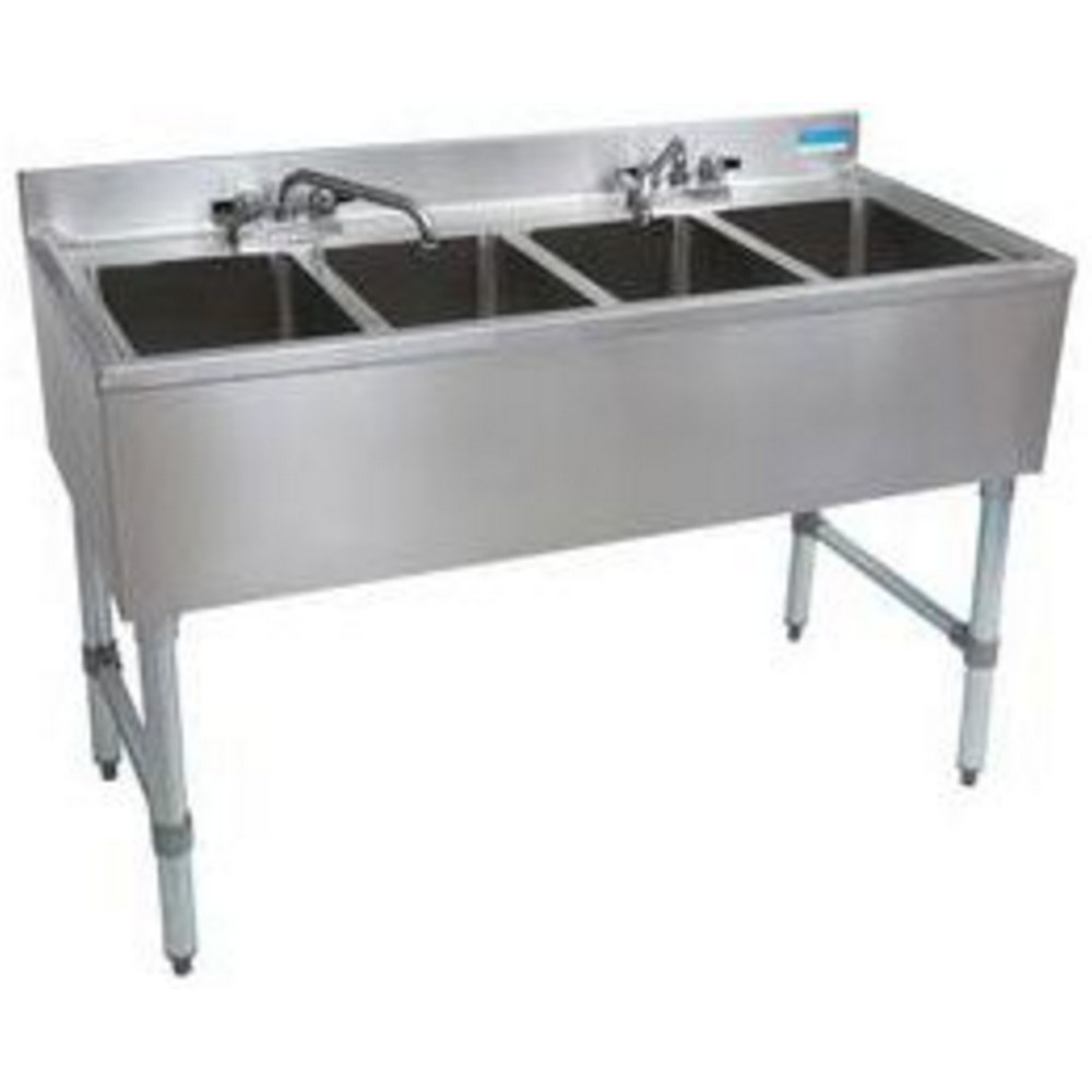 4 Compartment Bar SInks