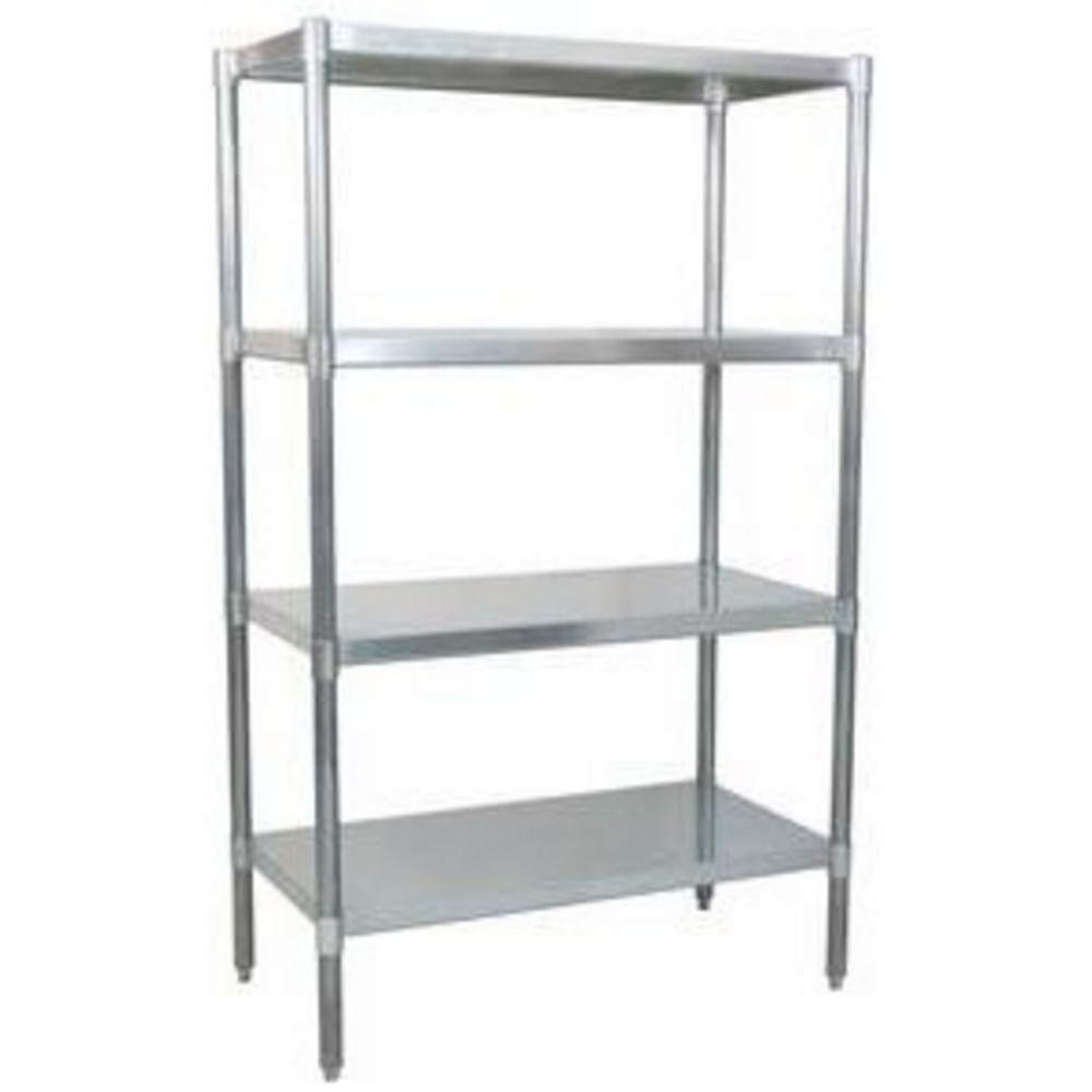 Solid Metal Shelving Units