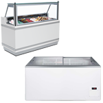 Ice Cream Display Freezers