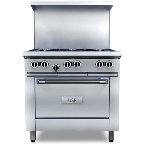 Commercial Ranges, Stoves