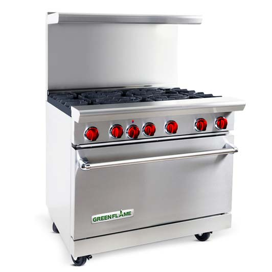 Pilotless Ignition Gas Ranges