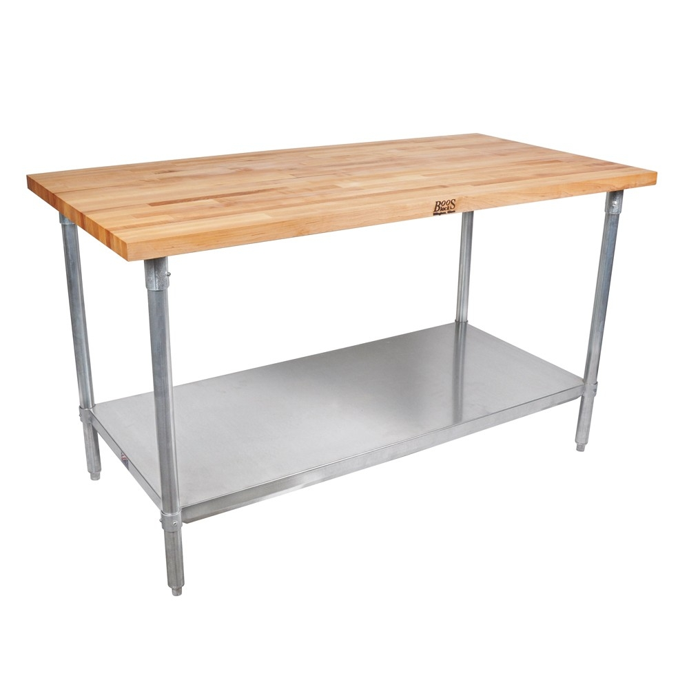 Wood Top Worktables