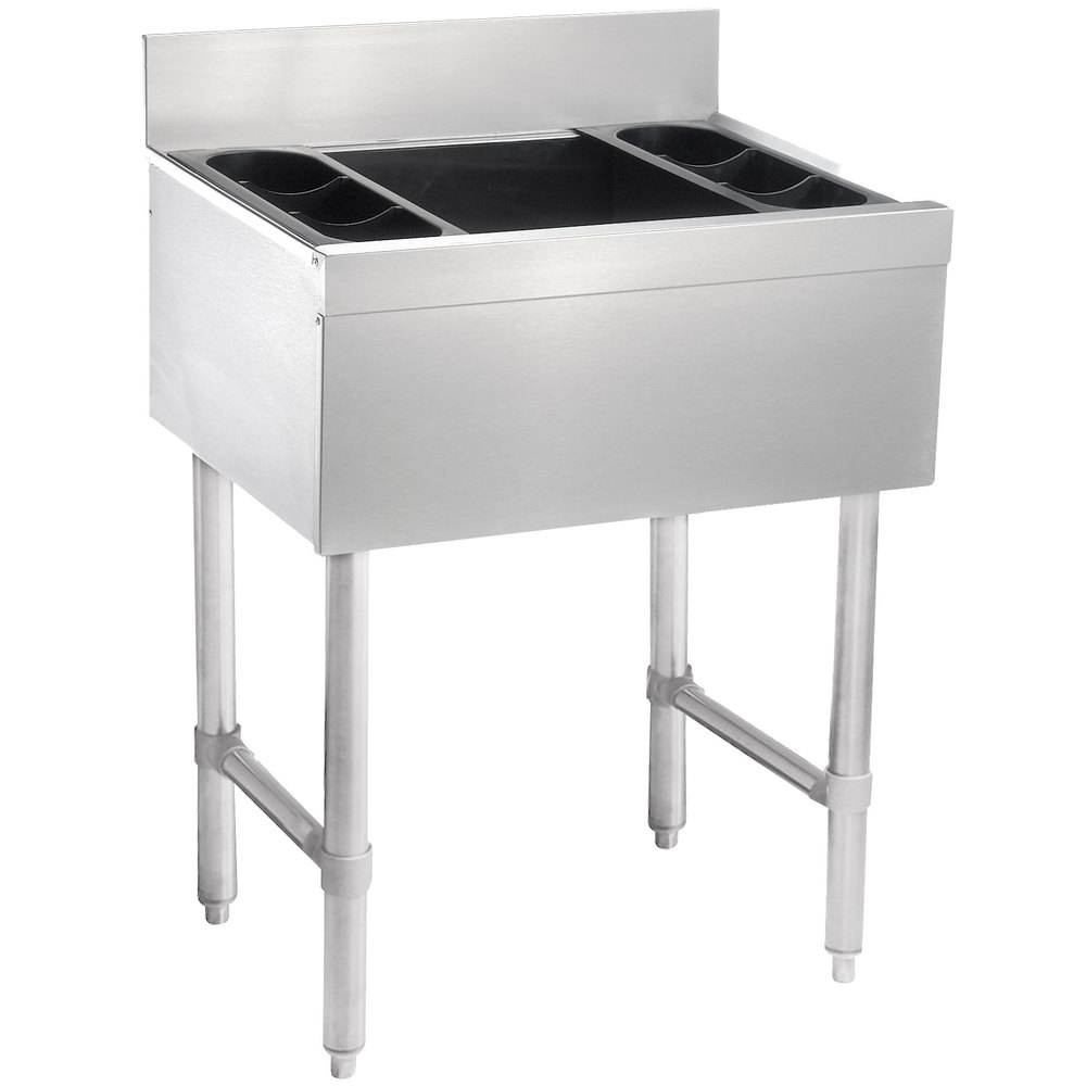 Commercial Underbar Ice Bins Kitchenall New York