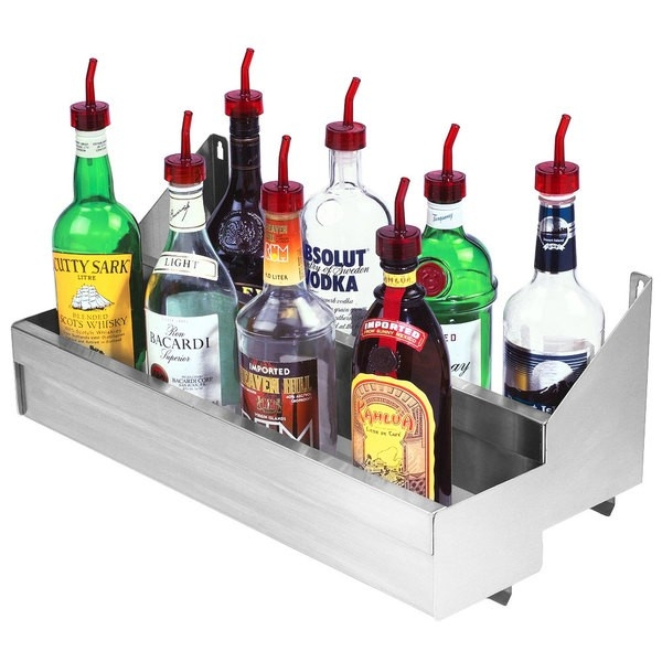 Bar Speed Rails & Bottle Shelves