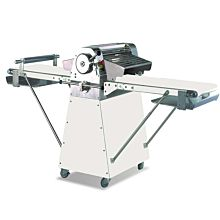 "Prepline 20"" Floor Model Dough Sheeter, Reversible Commercial with Roller Pin, Painted Steel, 120v"