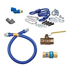 "Dormont 1675BPQR36 36"" Gas Connector Kit with Quick Disconnect - 3/4"""