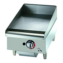 """Star Max 515TGF 15"""" Countertop Electric Griddle with Snap Action Thermostatic Controls"""