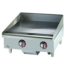 """Star Max 524TGF 24"""" Countertop Electric Griddle with Snap Action Thermostatic Controls"""