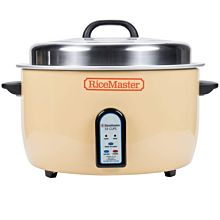 "Town 57155 22"" 110 Cup (55 Cup Raw) 230V Electronic Rice Cooker / Warmer"