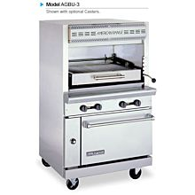 """American Range AGBU-3 36"""" Infrared Overfried Broiler with Lower Oven"""