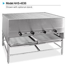 "American Range AHS-6036 60"" x 36"" Horizontal Chicken Broiler"