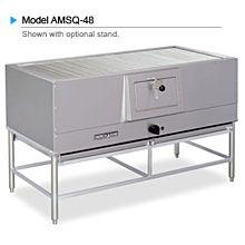 "American Range AMSQ-48 48"" Mesquite Wood Char Broiler"