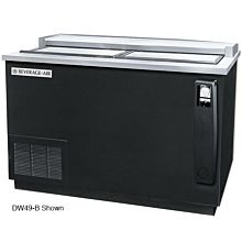 Beverage-Air DW49-S-24 50 inch Stainless Steel Remote Cooled Deep Well Bottle Cooler