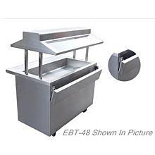"EBT-60 60"" Electric Buffet Table,"
