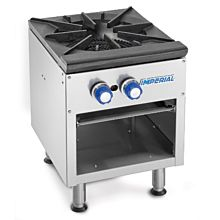 Imperial ISPA-18 - Gas Stock Pot Range - Three Ring Burner