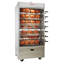 Old Hickory N14G 70 Chicken Commercial Rotisserie Oven Machine, Gas