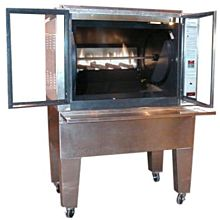 Old Hickory N5.8G 49 Chicken Commercial Rotisserie Oven Machine, Gas