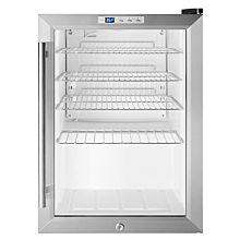 """Summit SCR312L 17"""" Countertop Beverage Cooler with Glass Door, Black Cabinet"""