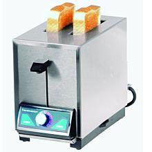 2000//2600W Toastmaster TP424 4 Slice Pop-Up Commercial Toaster 208//240V