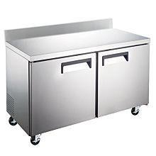 """Coldline TUC60R-BS 60"""" Undercounter Worktop Refrigerator with 4"""" Backsplash"""