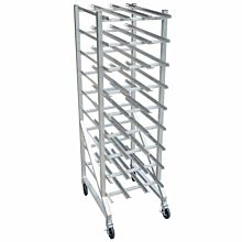 """Global CNR-8 27"""" Square Tubing Knock-down Can Rack"""