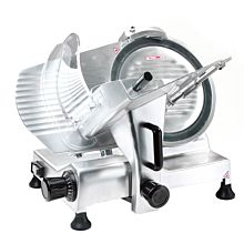 """Prepline HBS250 10"""" Blade Commercial Semi-Automatic Electric Meat Slicer"""