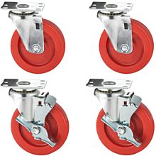 American Range A35117 Compatible Cooking Equipment Casters (Set of 4, 2 Brake)