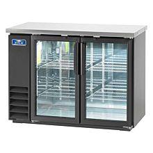 "Arctic Air ABB48G 49"" Glass Back Bar Refrigerator - 12.5 Cu. Ft."