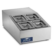 "Arctic Air ACP4 15"" Compact Counter-top Prep Refrigerator"