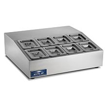 "Arctic Air ACP8 28"" Compact Counter-top Prep Refrigerator"