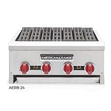 "American Range AERB-12 12"" Radiant 2 Burner Char-Broilers"