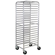 Winco ALRK-20BK Full Size Sheet Pan Rack with Brakes