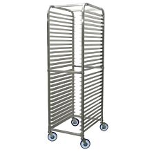 Winco ALRK-30BK Commercial Heavy Duty Sheet Pan Rack With Brakes