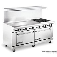American Range 72 inch Commercial Range, 48 inch Griddle, AR48G-4B - Old Style