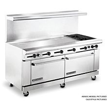 American Range 72 inch Commercial Range, 60 inch Griddle, AR60G-2B - Old Style