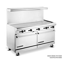 American Range 60 inch Commercial Range, 60 inch Griddle, AR60G - Old Style