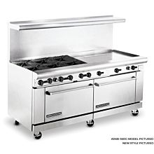 American Range 72 in Commercial Range, 36 Raised Griddle, AR6B-36RG - Old Style
