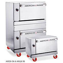 "American Range ARLB-36-C 36"" Single Deck Low Boy Gas Commercial Oven - Convection"