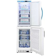 "Summit ARG3PV-ADA305AFSTACK 20"" Wide Vaccine Refrigerator/Freezer Combination"