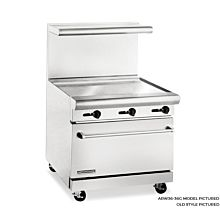 American Range 36 in Commercial Range, 36 in Griddle, ARW36-36G - Old Style