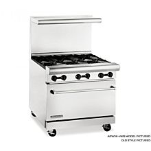 American Range 36 in Gas Range, 4 Extra Wide Burners, ARW36-4WB - Old Style