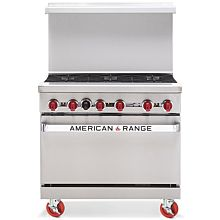 "American Range ARW36-6 36"" Commercial Range with 32"" Oven"