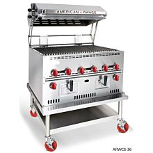 American Range ARWCS-36 Wood Chip Smoker Oven
