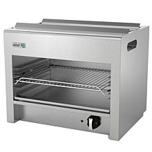 """Asber AECM-24 24"""" Gas Cheese Melter with Infared Burners - 20,000 BTU"""