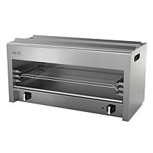 """Asber AECM-36 36""""  Gas Cheese Melter with Infared Burners - 40,000 BTU"""
