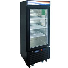 """Atosa MCF8726GR 24"""" Refrigerator Merchandiser With bottom-mount self-contained refrigeration , 1 self-closing hinged glass door with lock"""