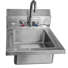 """Atosa MRS-HS-14(W) 14"""" MixRite Stainless Steel Hand Sink"""