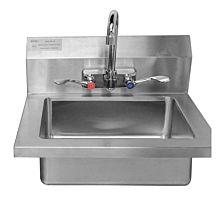 """Atosa MRS-HS-18(W) 14"""" MixRite Stainless Steel Hand Sink"""